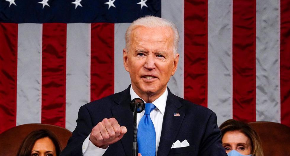 Imagen del presidente de Estados Unidos, Joe Biden. (Foto: MELINA MARA / POOL / AFP).