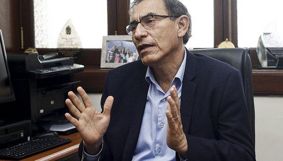 Martín Vizcarra destaca que Kenji es más cercano al Gobierno que Keiko