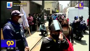 Ambulantes en Mesa Redonda se niegan a ser reubicados en 11 mil puestos disponibles (VIDEO)