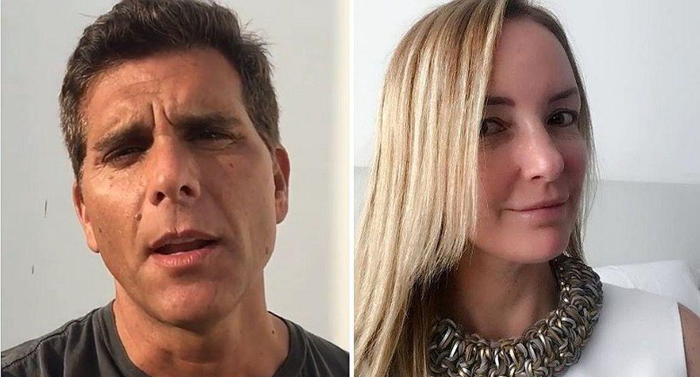 Christian Meier y Marisol Aguirre aparecen juntos en foto de Instagram