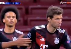Atlético de Madrid vs. Bayern Munich: Thomas Müller empató el partido 1-1 de penal por Champions League (VIDEO)