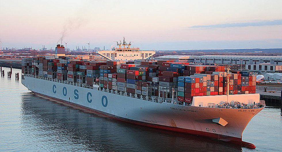 Buque de 13 mil contenedores bate récord en el Canal de Panamá (FOTOS)