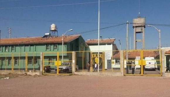 Los sentenciados ya vienen purgando prisión en el Establecimiento Penitenciario de Juliaca. (Foto: Difusión)