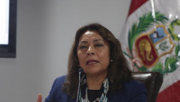 La primera ministra, Violeta Bermúdez, indicó que pese a todo, fallo del TC sobre la vacancia presidencial debe respetarse. (Foto: Francisco Neyra / GEC)