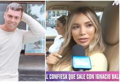 """Paula Manzanal sobre sus salidas con Ignacio Baladán: """"Yo lo quiero un montón"""" (VIDEO)"""