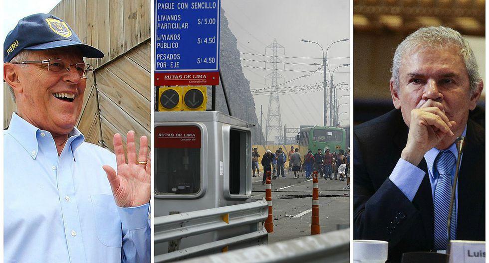 PPK intentará convencer a Luis Castañeda para retirar peaje de Puente Piedra (VIDEO)