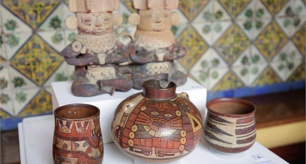 Perú repatría 130 piezas precolombinas provenientes de Argentina y EE.UU.