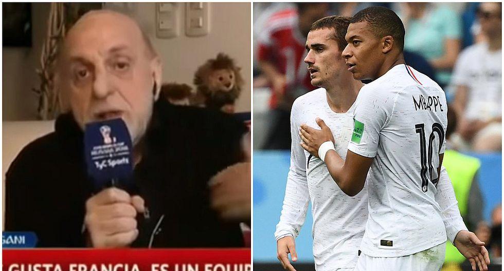 "Horacio Pagani vuelve a encender polémica: ""Francia es un equipo de medio pelo"" (VIDEO)"