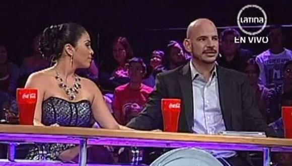 "Yo Soy: Maricarmen Marín hace ""broma pesada"" a Ricardo Morán (VIDEO)"