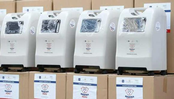Estos equipos representan una opción viable para la administración de oxigenoterapia en el interior del país. (Minsa)