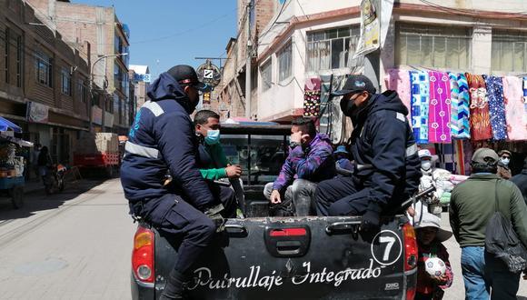 En este operativo también participaron las autoridades del Ministerio Público, Migraciones y otros. (Foto: Difusión)