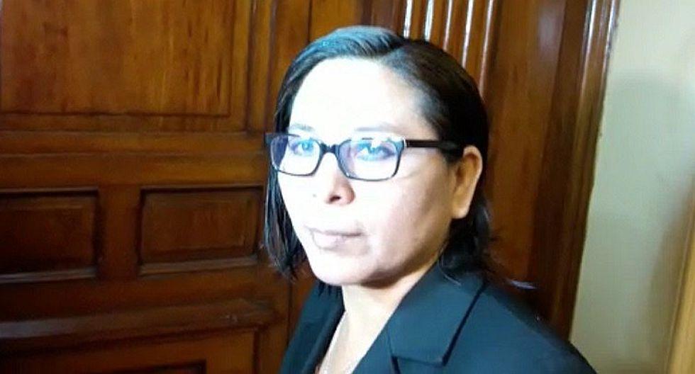 Estelita Bustos niega intercambio de favores para que Kenji Fujimori regrese al Congreso (VIDEO)