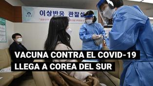 Campaña de vacunación contra la COVID-19 arranca en Corea del Sur