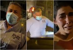 Sujeto golpeó enérgicamente auto de hermana de exreportera de Aldo Miyashiro tras choque en Chorrillos (VIDEOS)