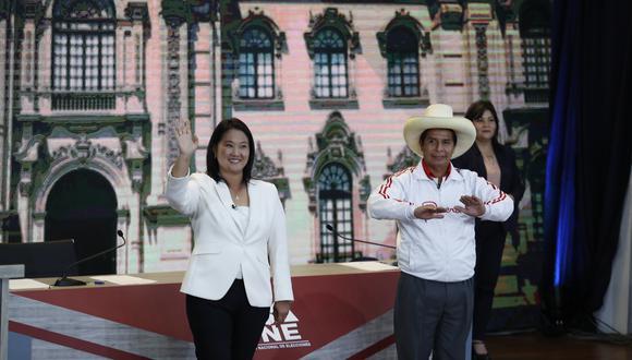 Los candidatos presidenciales Pedro Castillo y Keiko Fujimori disputaron la segunda vuelta de las Elecciones 2021 el pasado 6 de junio. (Foto: Hugo Pérez / GEC)