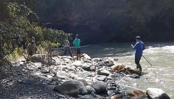 Labores de búsqueda continúan en la provincia de Sandia. (Foto: Difusión)