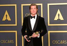Brad Pitt maravilló a sus fans en los Oscar con fascinante slow-motion (VIDEO)