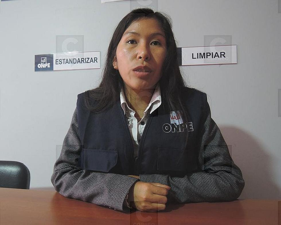 Jefa de ODPE Tacna inicia funciones