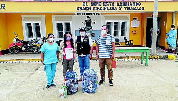 Liberan a dos internas del penal de Jauja y de Río Negro por Gracia Presidencial