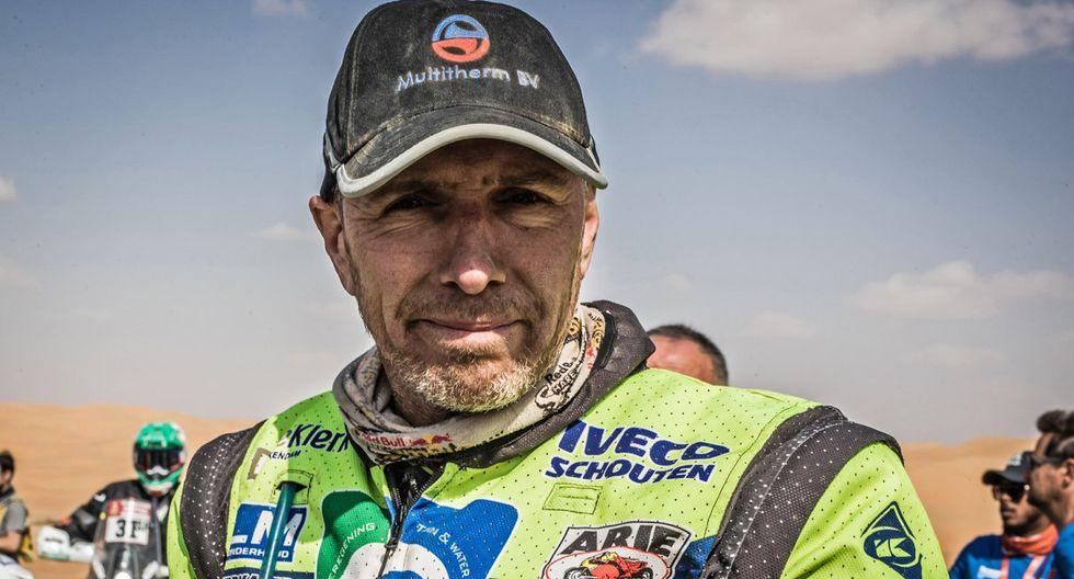 Edwin Straver, el piloto holandés de 48 años, perdió la vida, víctima de un accidente en el Rally Dakar. (Foto: Dakar)