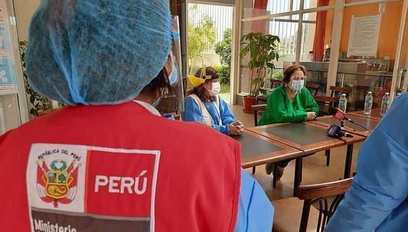 Ministra de la Mujer llega a Arequipa para brindar apoyo a Celia Capira