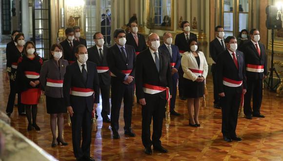 Estos son los ministros que conforman el gabinete de Walter Martos