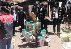 Adulteran miel utilizando azúcar boliviana y hierbas en Santiago - Cusco (VIDEO)