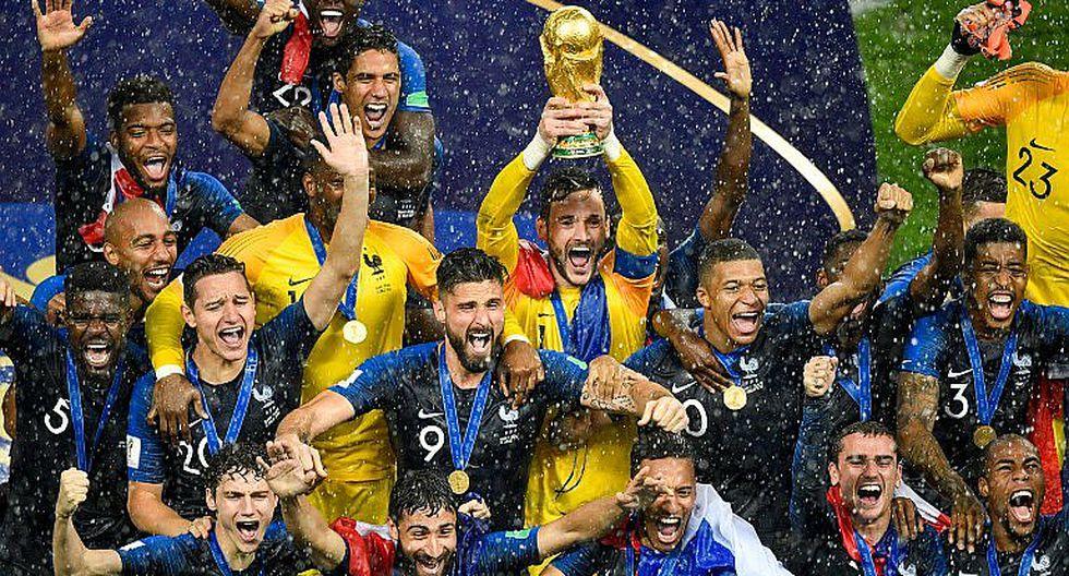 Alegría y lágrimas: Francia es el nuevo Campeón del Mundo (GALERÍA)