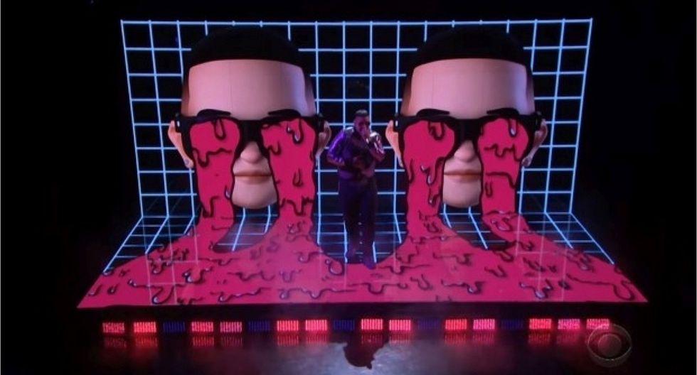 Daddy Yankee y su histórica presentación al cantar en español en programa de James Corden
