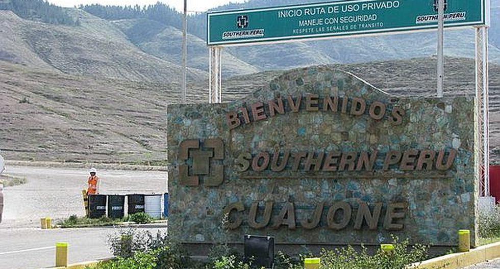 Minera Southern Peru aclara que no genera descargas al río Torata