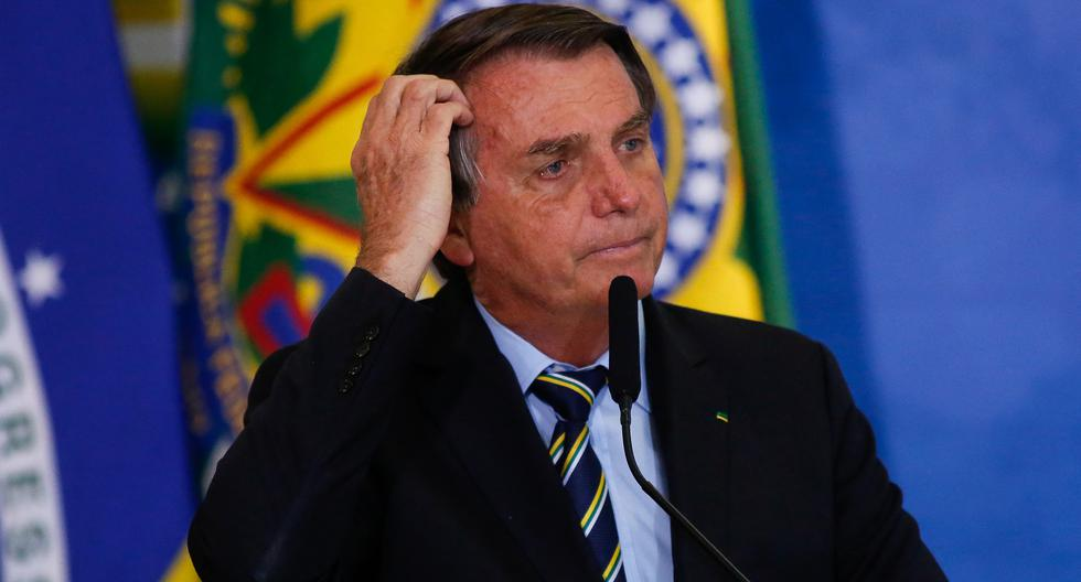 Imagen del presidente de Brasil, Jair Bolsonaro. (Sergio Lima / AFP).