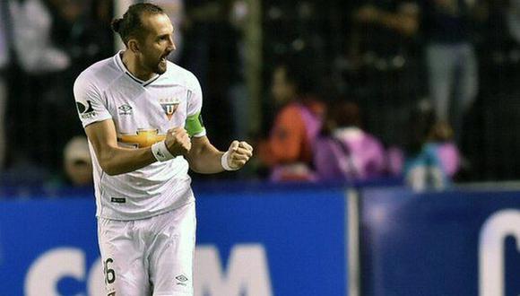 Hernán Barcos es el nuevo delantero de Alianza Lima. (Foto: AFP)