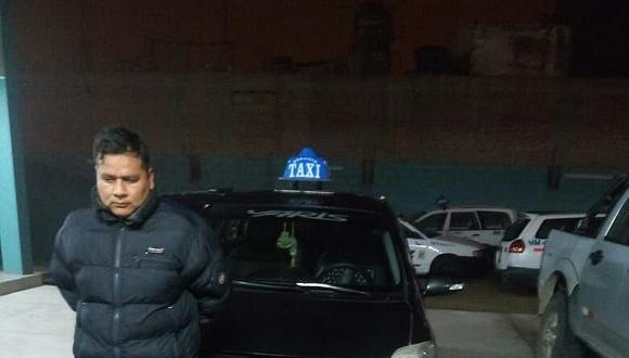 """Cae taxista que integraría una banda de """"robacasas"""""""