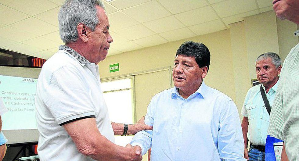 Gallegos activa ejecución de la represa Tambo para Ica
