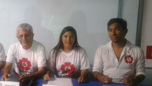 Frente Amplio define candidatos al congreso en Tacna