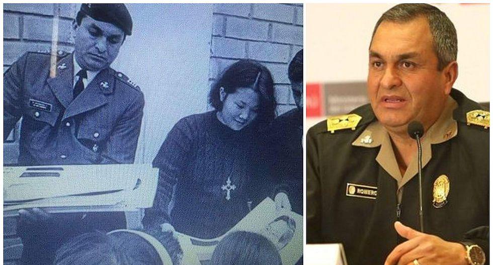 """Ministro del Interior: """"Foto repartiendo calendarios de Alberto Fujimori no es cosa nueva"""""""
