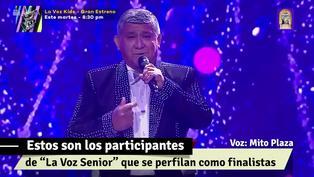 """""""La Voz Senior"""": estos son los participantes que se perfilan como los favoritos para la gran final"""