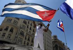 """España: cientos marchan en Madrid por la """"libertad"""" en Cuba (FOTOS)"""