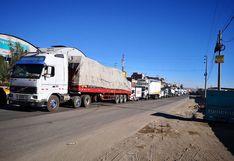 Desalojaron a más de 1000 vendedores informales que acaparan Vía Evitamiento en Cerro Colorado