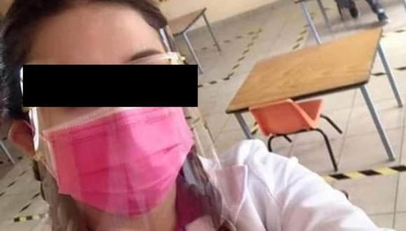 Profesora de Durango en el ojo de la tormenta tras polémica publicación. Captura: Televisa