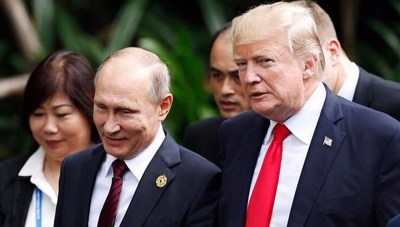 Donald Trump: Creo a Vladimir Putin cuando dice que no se entrometió en elecciones de EE.UU