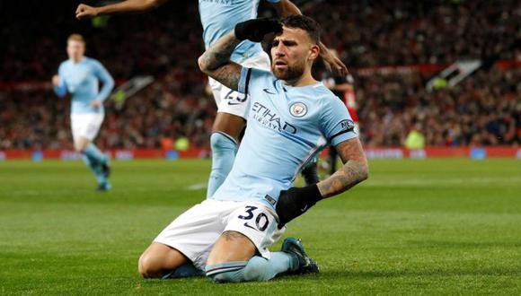 Otamendi llegó a Manchester City en la temporada 2015-16. (Foto: AFP)