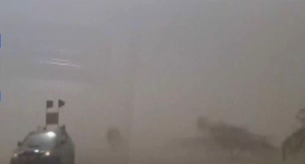 Foto: Captura de video de Canal N.