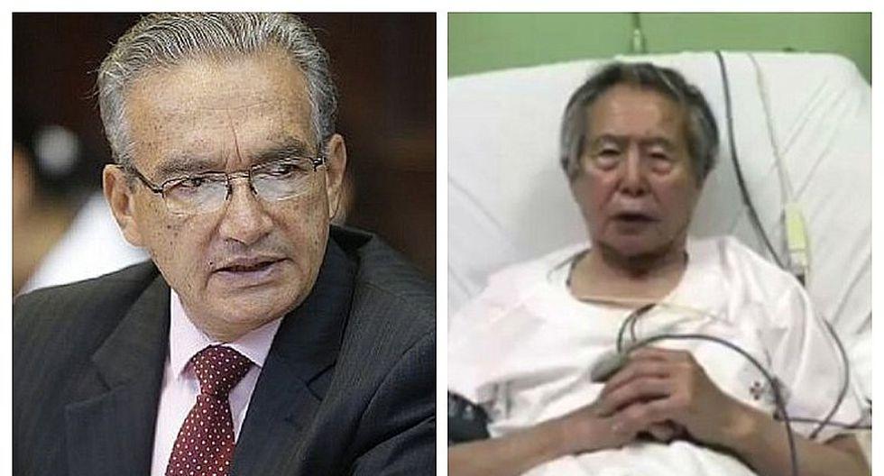 "Alejandro Aguinaga sobre Alberto Fujimori: ""Ahora necesita otro tipo de monitoreos"""