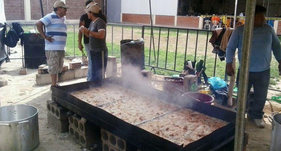 Trabajadores recaudan 21 mil soles de polladas para damnificados de Mirave