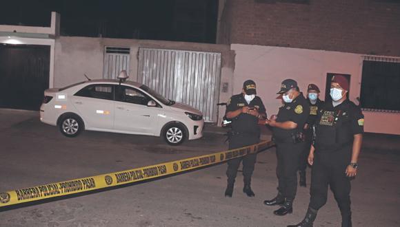 Una de las víctimas tenía antecedentes por perpetrar robos junto a una banda de falsos taxistas.