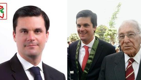 Nieto de Luis Bedoya pide licencia al PPC por alianza electoral con APP: prefiero perder la inscripción