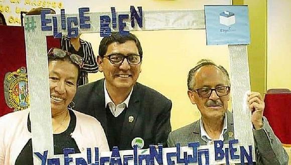 Antonio Jerí es el nuevo rector de la Unsch, periodo 2020 - 2025