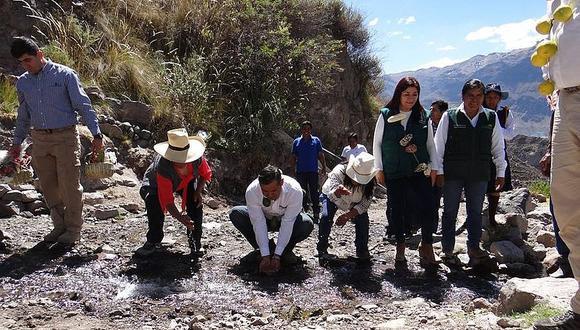 Obras promoverán mayor producción en la región Moquegua