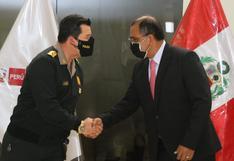 Luis Barranzuela fue presentado ante titulares de organismos del Mininter en medio de cuestionamientos